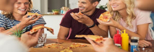 Déguster des pizzas italiennes